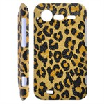 Leopard Cover til Incredible S (Gul)
