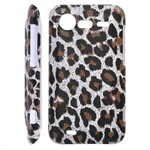 Leopard Cover til Incredible S (Brun)