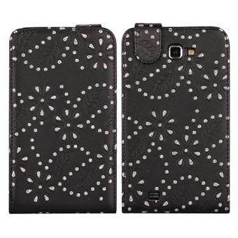 Image of   Bling Bling Diamond Etui til Galaxy Note (Sort)