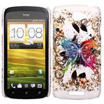 HTC ONE S Sommerfugle Cover (Mix)