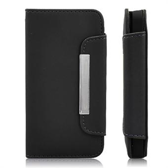 Image of   Fancy iPhone 4/4S strap etui (Sort)