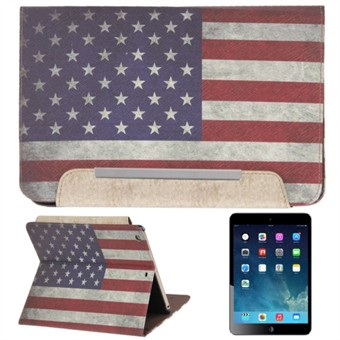 Image of   Dirty Amerika Retro Kort Etui til iPad Air