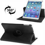 360 Roterende Etui til iPad Air (Sort)