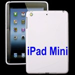 S-Line iPad mini Silikone Cover (Hvid)