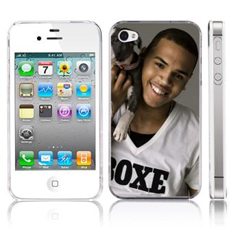 Image of   Chris Brown Cute 4/4S Cover