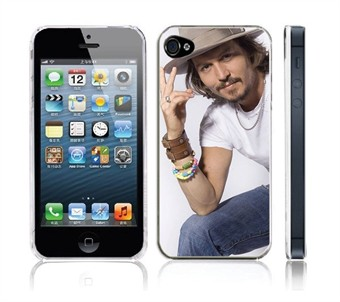 Image of   ''Januar udsalg'' Johnny Deep - iPhone 5 Cover