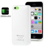 2800mAh External Battery Case 5C (Hvid)