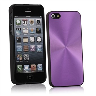 Image of   Aluminium Cover til iPhone 5 (Lilla)