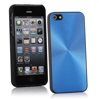 Image of   Aluminium Cover til iPhone 5 (Blå)