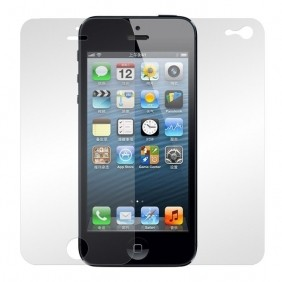 iPhone 5 For- og Bagside - Mat