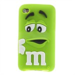 M&M iPod Touch 4 Silikone Cover (Grøn)