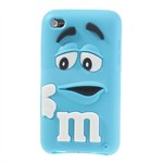 M&M iPod Touch 4 Silikone Cover (Turkis)