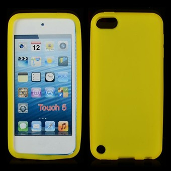 Image of   Touch 5/6 simpel silikone cover (Gul)