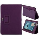 Exclusive etui til Samsung Note 10.1 (Lilla)