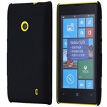 Simpel Plastik Cover til Lumia 520 (Sort)