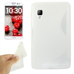 S-Line Silikone Cover LG Optimus LF 2 (Transparent)