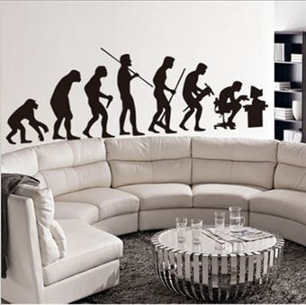 Wall Stickers - Evolution