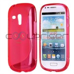 S-Line Silicone Cover Galaxy S3 Mini (Pink)