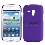 Simpel Plastik Cover Galaxy S3 Mini (Lilla)