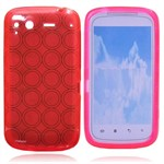 HTC Salsa C510 Silikone Cover (Pink)