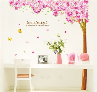 Wall Stickers - Love flower