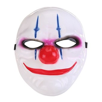 Image of   Crazy evil clown mask