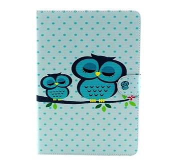Image of   iPad Air 2 designer etui Cute Closed Eyes Owl