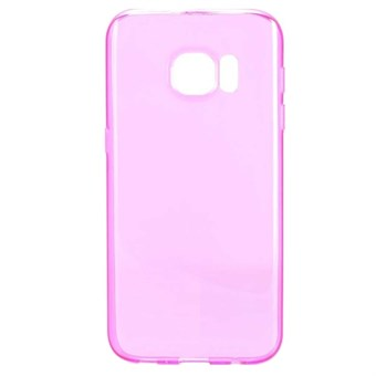 Image of   Soft silikone cover Galaxy S7 (rose rød)