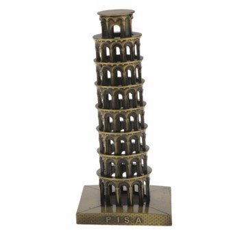 Image of   Leaning Tower of Pisa 15.5cm figur