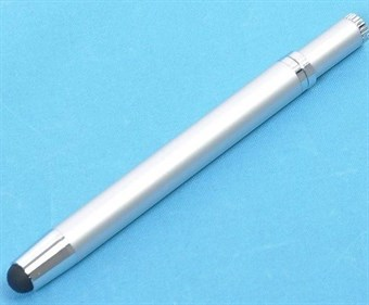 Image of   Mini Touch Pen med kuglepen (Silver)