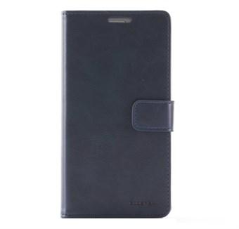 Image of   Premium Mercy læder etui Galaxy S7 Edge M. Kredit kort blå