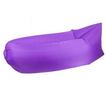 SnoozeBag Air Bed / Sofa - Lilla