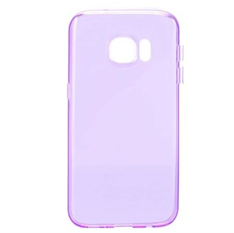 Image of   Soft silikone cover Galaxy S7 Edge cover (lilla)