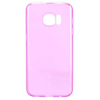 Image of   Soft silikone cover Galaxy S7 Edge cover (rose red)