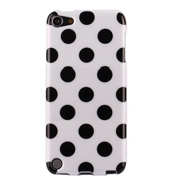 Image of   iPod Touch 5/6 Cover Dots (hvid, sort)