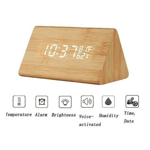 762ff30b0eb Woodlook Vækkeur | Digitalt ur med LED lys| Lave priser