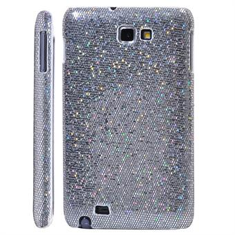 Image of   Galaxy Note Glittery Cover (Sølv)
