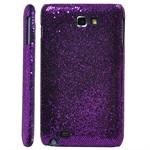 Galaxy Note Glittery Cover (Purple)