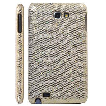 Image of   Galaxy Note Glittery Cover (Guld)