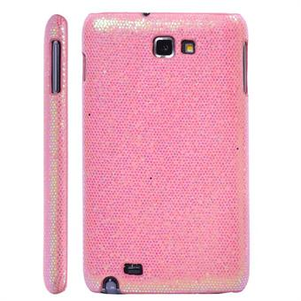 Image of   Galaxy Note Glittery Cover (Pink)