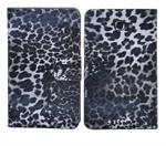 Samsung Note Leopard Etui (Sort)