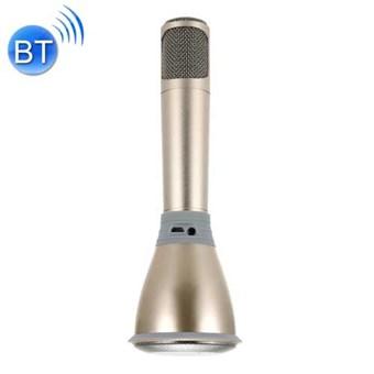 Image of   K068 2 in 1 Bluetooth Håndholdt Mikrofon og Højttaler til iPhone & Android