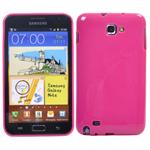 Galaxy Note Silikone Cover (Pink)