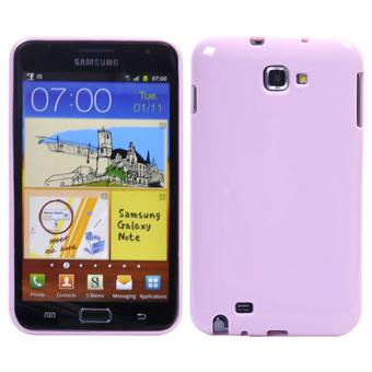 Image of   Galaxy Note Silikone Cover (Baby Pink)