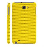 Net Cover til Galaxy Note (Gul)