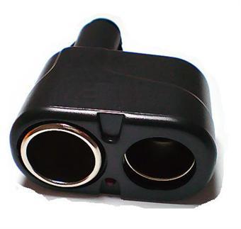 Image of   Billig Cigaret adapter med 2 cigaretstiksudtag