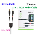 BELKIN 3.5 mm to Stereo RCA Audio Cable