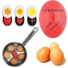 Image of   Farveskiftende æg ure