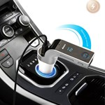 CarG7 multifunktionel Bluetooth  Biloplader/Fm Transmitter