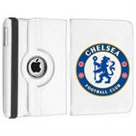Roterende Fodbold Etui til iPad Air - Chelsea